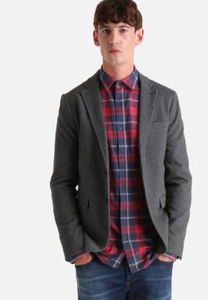 Only & Sons Gabe Blazer Jackets & Coats Dark Grey Melange