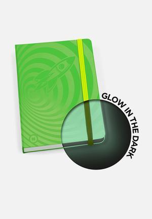Mustard  Glowbook Gifting & Stationery Green
