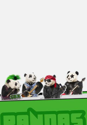 Mustard  Bookmarks Pandas Rock Gifting & Stationery Plastic & Magnet