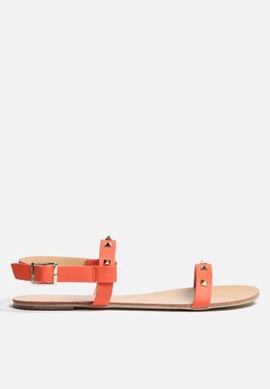 Billini Mars Sandals & Flip Flops Coral