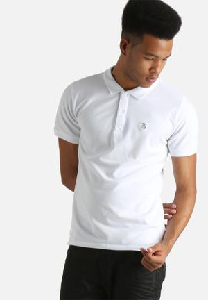 Selected Homme Embroidery Polo Shirt T-Shirts & Vests White