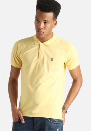 Selected Homme Embroidery Polo Shirt T-Shirts & Vests Yellow