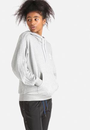 Adidas Originals Hooded Sweatshirt Hoodies & Jackets Grey