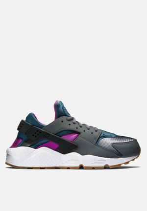 Nike Wmns Air Huarache Run Sneakers Dark Grey / Teal