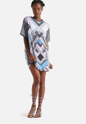 Evil Twin Cosmos Cover Up Dress Casual Multi Colour