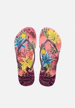 Havaianas Women's Slim Tropical Sandals & Flip Flops Rose