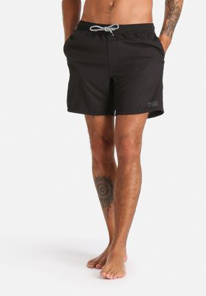Globe Lygon Poolshort Swimwear Black