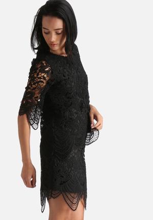Vero Moda Mimi Lace Top Blouses Black