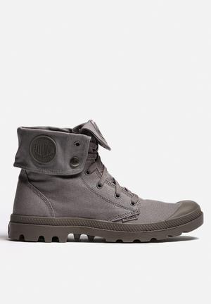 Palladium Monochrome Baggy Boots Dark Grey