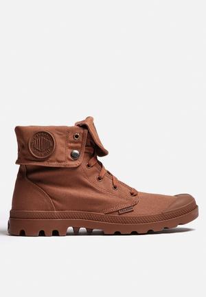 Palladium Monochrome Baggy Boots Brick