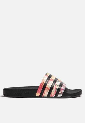 Adidas Originals Adilette Sneakers Black & Multi