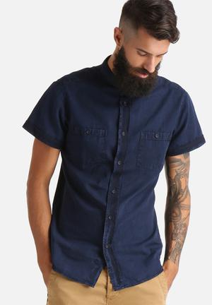 Sergeant Pepper Denim Shirt Blue