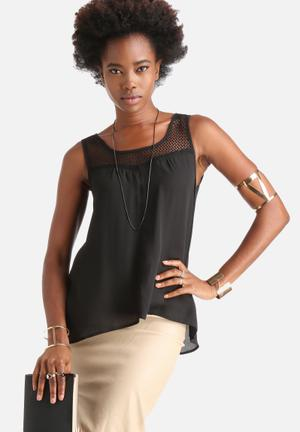 Dailyfriday Signature Top Blouses Black
