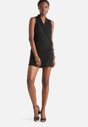 Vero Moda Wanda Short Dress Formal Black