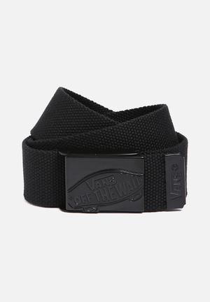 Vans Conductor Web Belt Black