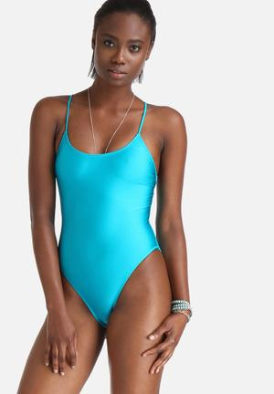Feel Free Laced Back Swimsuit