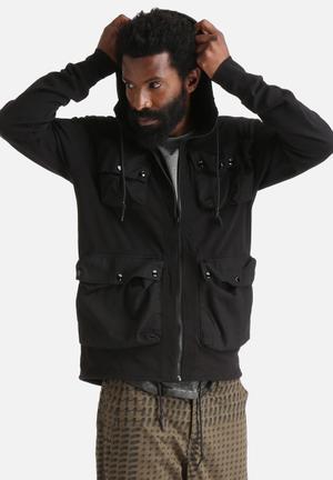 G-Star RAW Kriyo Hooded Sweat Hoodies & Sweatshirts Black