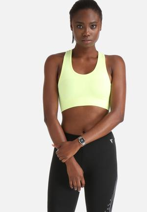 ONLY Play Suko Seamless Training Bra Neon Yellow