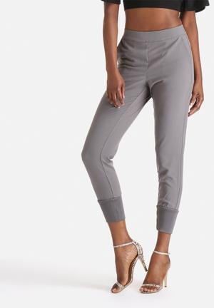 Selected Femme Hava Knit Pants Trousers Grey