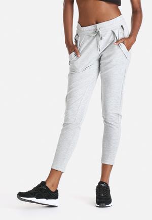 Selected Femme Sanna Knit Pants Bottoms Grey
