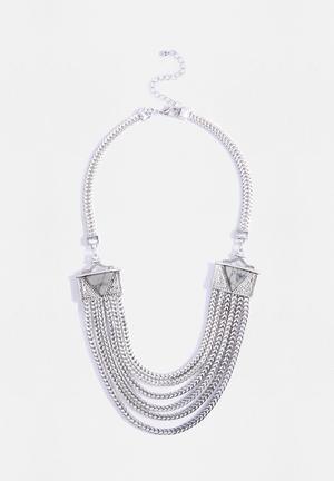 Vero Moda Crista Necklace Jewellery Silver