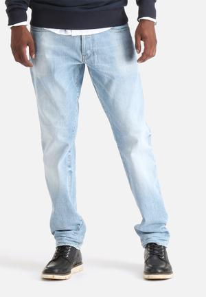 G-Star RAW 3301 Tapered Jeans Light Aged Destroy