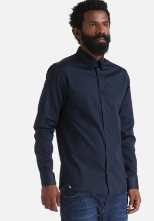 Selected Homme Travis Slim Shirt Navy Blazer