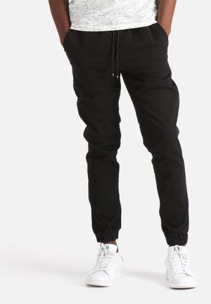 Jack & Jones Jeans Intelligence Vega Joggers Sweatpants & Shorts Black