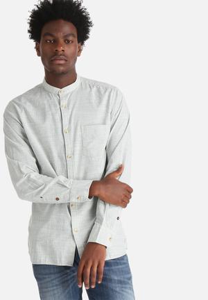 Jack & Jones Vintage Tyler Shirt White / Blue