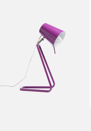 Present Time Table Lamp Z Lighting Metal