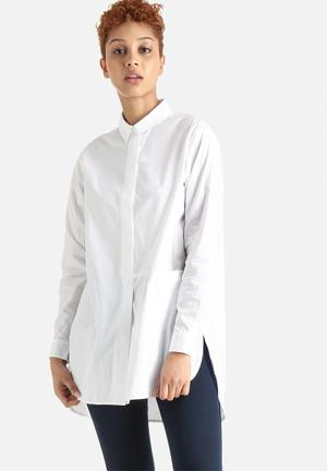 Selected Femme Timal Shirt White