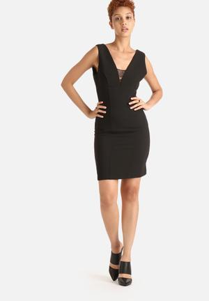 VILA Kiss Dress Formal Black