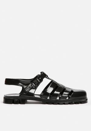 Juju Maxi Sandals & Flip Flops Black