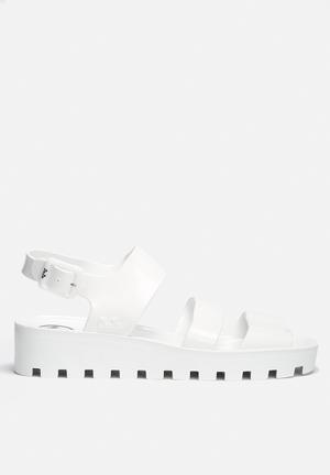 Juju Poppy Sandals & Flip Flops White