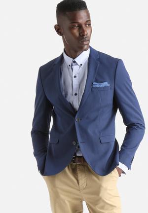 Jack & Jones Premium Roy Slim Blazer Jackets & Coats Navy