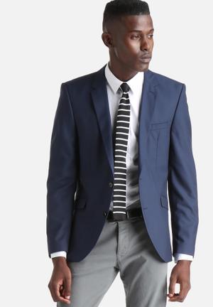 Selected Homme Taxcash Blazer Jackets & Coats Navy