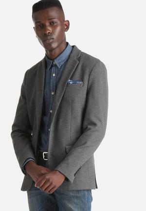 Selected Homme Origon Blaze Jackets & Coats Dark Grey Melange