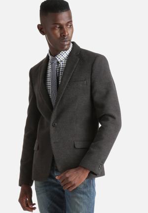 Only & Sons Tarek Blazer Jackets & Coats Grey