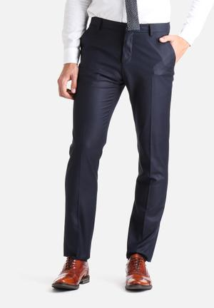 Selected Homme Logan Slim Trousers Pants Navy