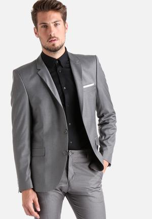 Selected Homme Logan Blazer Jackets & Coats Grey