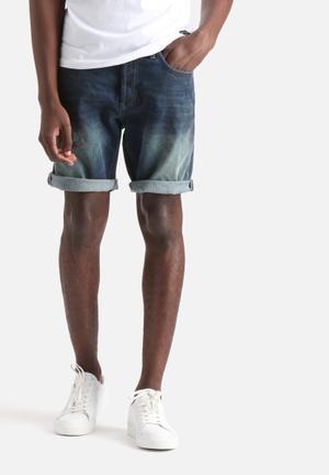 Only & Sons Avi Denim Shorts Blue