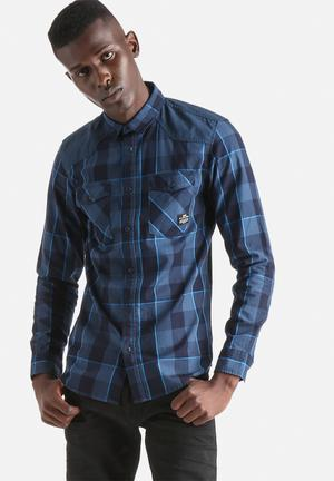 Jack & Jones CORE Augustin Slim Shirt  Electric Blue