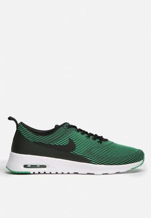 Nike Air Max Thea Jacquard Sneakers Black / Spring Leaf / White