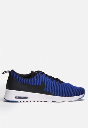 Nike Air Max Thea Jacquard Sneakers Black / Racer Blue / White