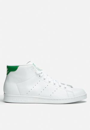 Adidas Originals Stan Smith Mid Sneakers Ftwr White / Green