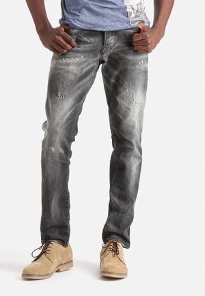 Jack & Jones Jeans Intelligence Tim Slim Icon Jeans Grey Denim