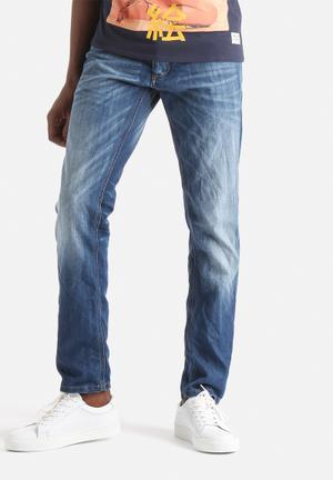 Jack & Jones Jeans Intelligence Tim Slim Denim Jeans Blue