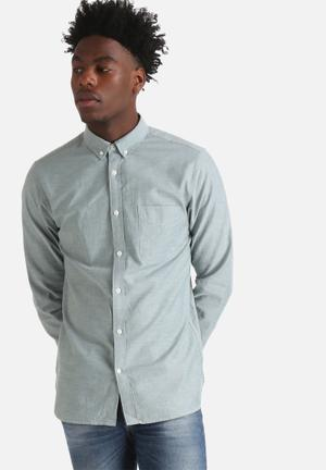 Jack & Jones Premium David Slim Shirt  Green
