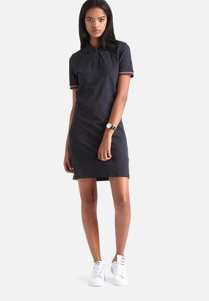 ADPT. Clearly Polo Dress Casual Navy