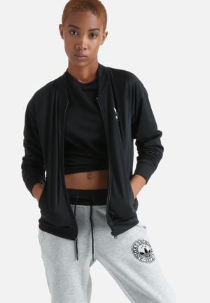 Adidas Originals Track Top Hoodies & Jackets Black